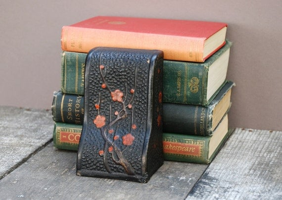Vintage Japanese Pottery Bookend