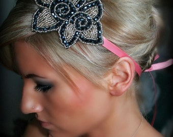 Flowers in Bloom Ribbon Headband
