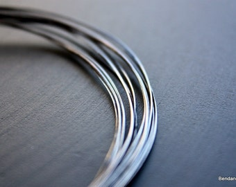 10 Feet Oxidized Copper Wire 22 Gauge Brushed Finish