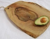 Sustainably harvested salvaged english walnut food prep and serving board