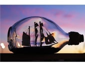 ship-in-a-bottle // sunset // los angeles