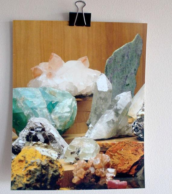 rocks & minerals  // museum of science // Boston