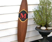 Cigar Sign with Monogram Wooden Dad