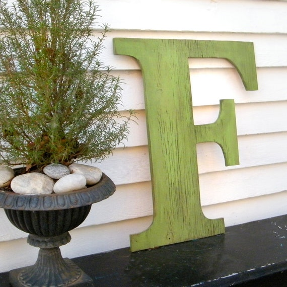 distressed large letters 24 inch extra large wooden letters shabby chic available in letters a z
