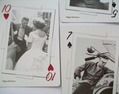 intimate moments in Elvis Presley's life - instant collection - set of 6 playing cards