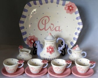 Little Miss Dazzling tea set