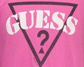 Vintage 90's GUESS Georges Marciano t shirt L