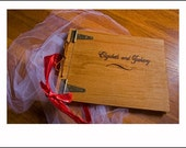Wedding Photo Album ... or Great Engagement Gift or Anniversary Photo Album or Guest Book Ideas