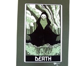 "Robo Tarot: Major Arcana v3 ""Death"" print"