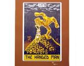"""Robo Tarot: Major Arcana v5 """"The Hanged Man"""" print"""