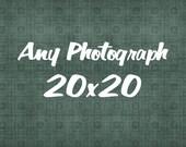 Any 20x20 Print
