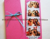 Photo Booth Prop Party Favors Card Strip Frames