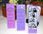 Photo Booth Acrylic Frames Party Favor with custom inserts