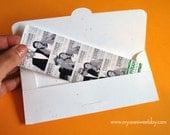 Photobooth Photo-Strip Envelopes Wedding Party Favor Loving BirdsLauders