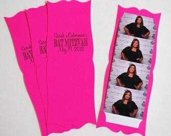 Photo Booth  Card Strip Frame Wedding Party Favor