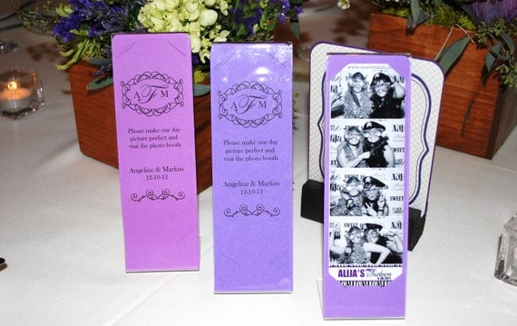night in paris photo booth frame inserts