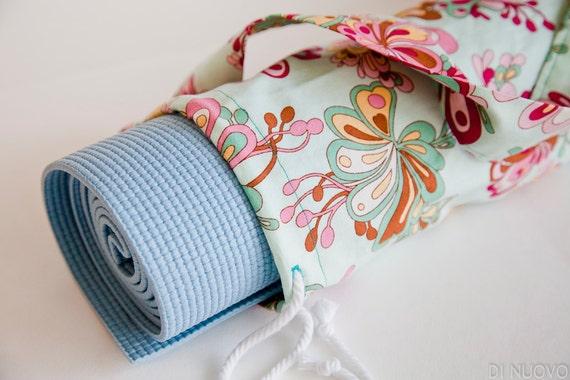 Mint Yoga Mat Bag - Yoga Mat Bag - Yoga Bag