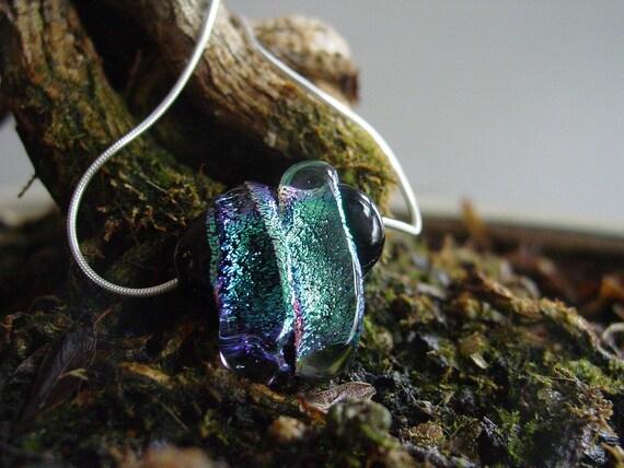 Teal Sparkle pendant