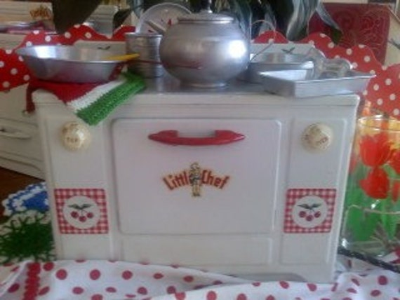 cherry kitchen accessories vintage cherry kitchen tin stove with by 2144