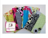 pdf Spiral Fabric Notebook Cover sewing pattern  (Now in 2 sizes) - INSTANT DOWNLOAD!!!