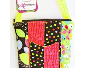 pdf Hipster Bag Purse sewing pattern - INSTANT DOWNLOAD!!!