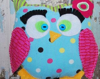 pdf Little Stitch Owl plushie toy diy pattern tutorial - INSTANT DOWNLOAD!!!