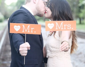 I'm His Mrs I'm Her Mr Signs - Rectangle - Custom