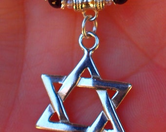 Sterling Silver Star of David Necklace - Holiday Gifts- Christmas Gift- Stocking Stuffer - Hanukkah Gifts-Birthday Gifts
