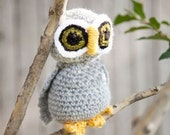 CUSTOM ORDER It's A Hoot Stuffed Owl