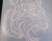 tiger decals for your car window