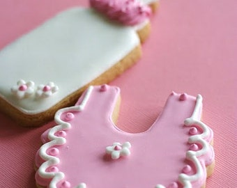 Baby Shower Cookies-Baby Girl Cookie Favors
