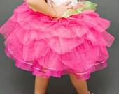 Flower Girl Tutu.  Pink Tutu.  Fairy Tutu