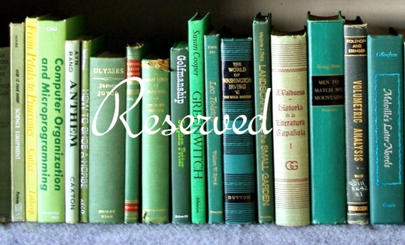 Reserved for Gail, girls book of friendship
