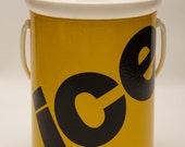 Kromex Yellow Ice Bucket