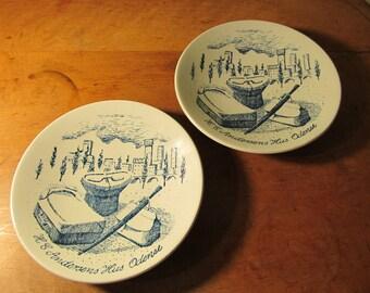 Vintage Nymolle Plates - Hans Christian Andersen's Travelling Equipment - Denmark