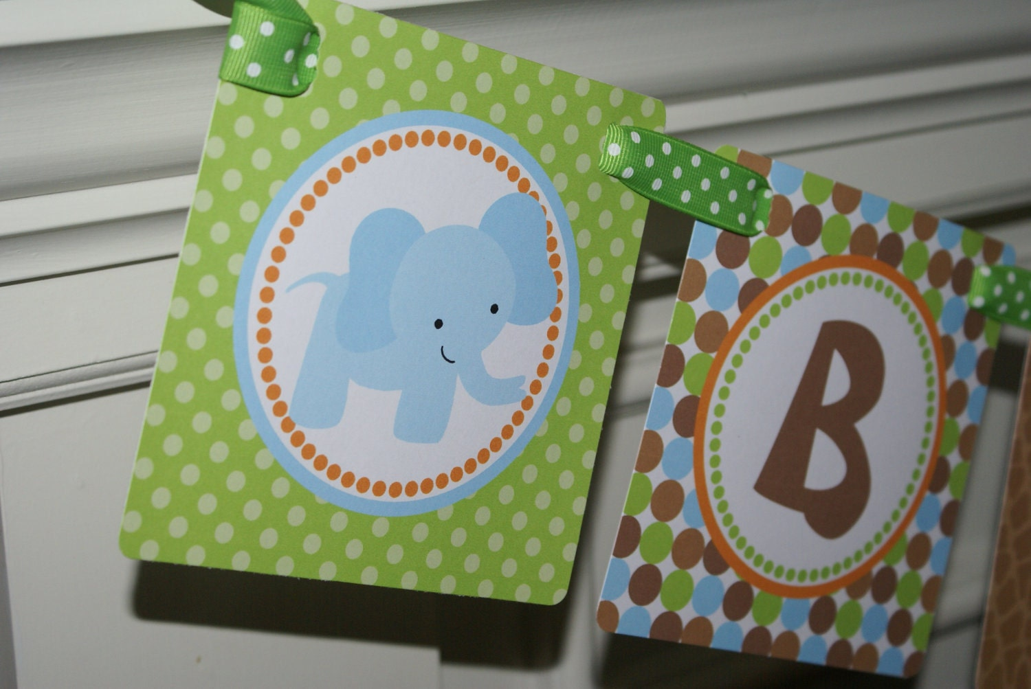 Safari Jungle Zoo Animal Baby Shower Banner By