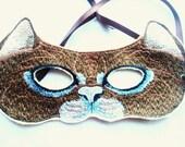 Kids Felt Embroidered Cat Mask