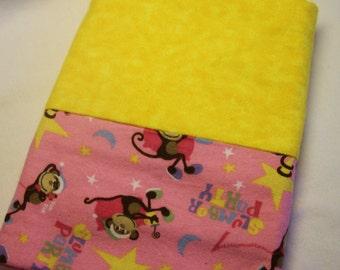 Fun Monkey Sleepover Pillowcases