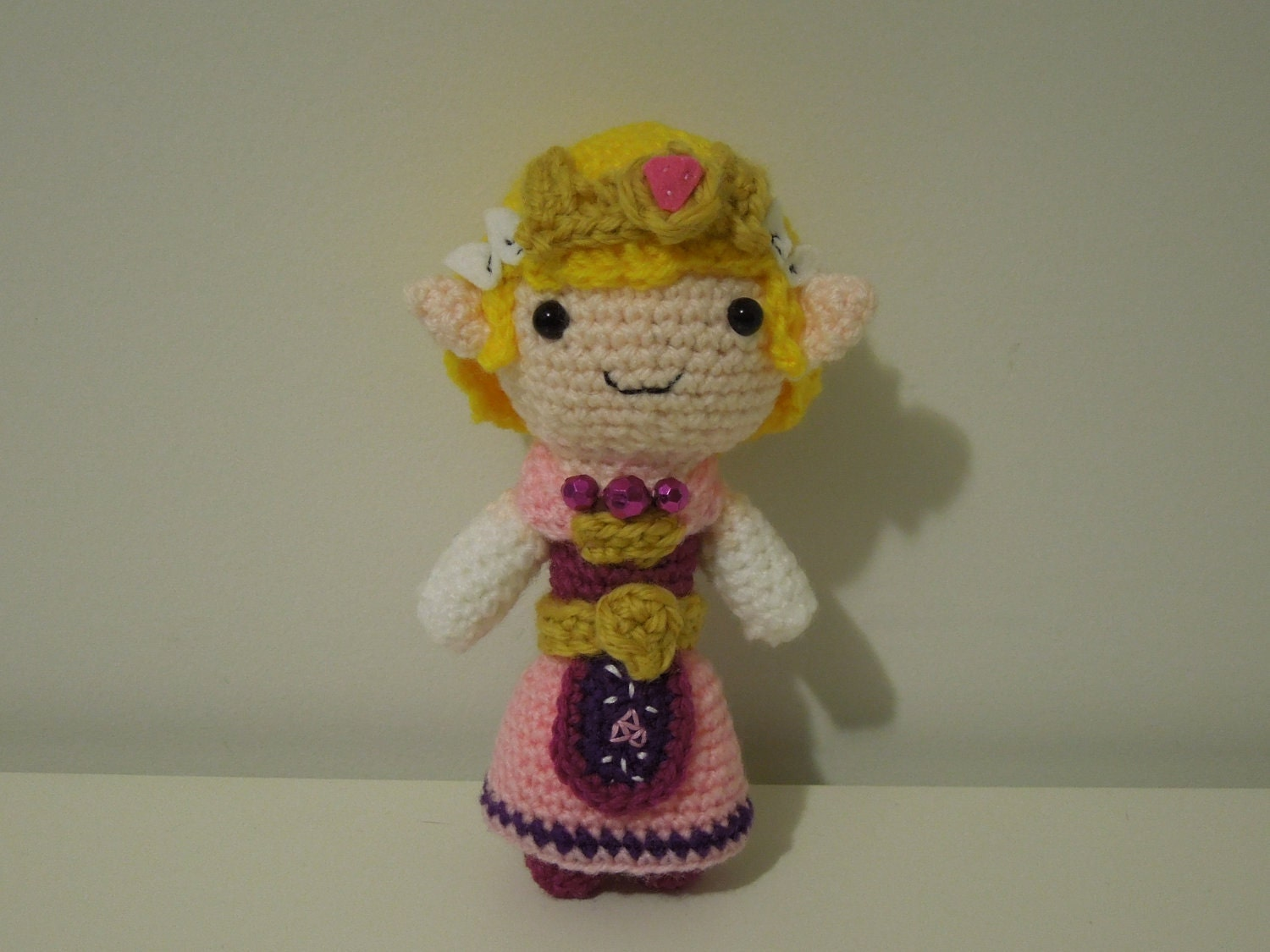 Crochet Zelda Patterns : Princess Zelda CROCHET PATTERN PDF by TheAmigurumiZoo on Etsy