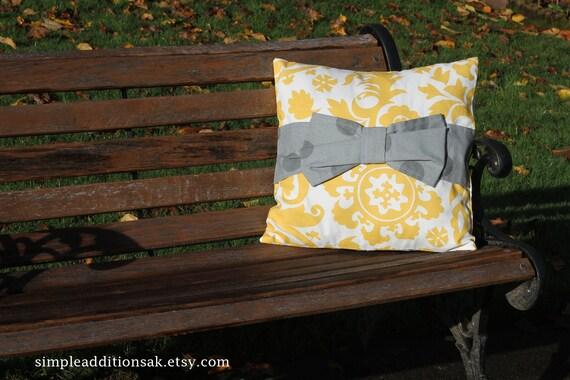 Bow Pillow Slipcover