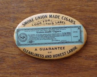 Pocket Mirror - Smoke Union Made Cigars