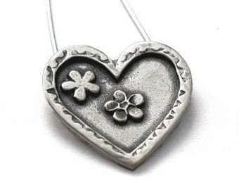 Silver Heart Pendant - Unconditional Love