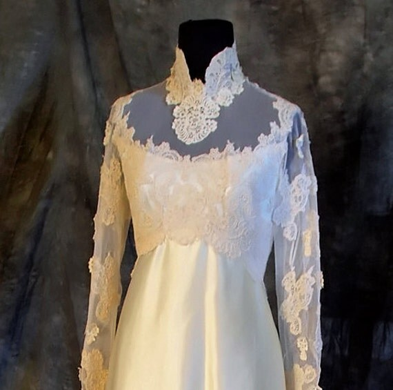Tricia Nixon Wedding Gown: Priscilla Of Boston Boutique Label Vintage Wedding By