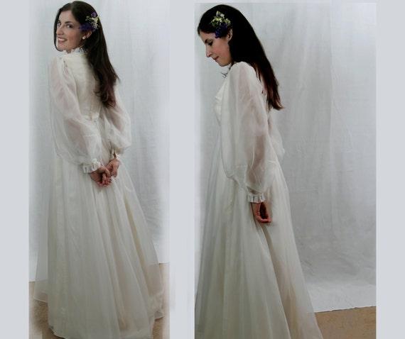 Emma Domb Wedding Dress NOS, s