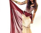 Wild Gypsy Rose, Corset & Skirt Set