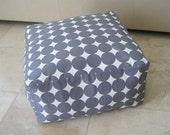 Square Pouf Floor Pillow Dwell Studio Dotscape Charcoal