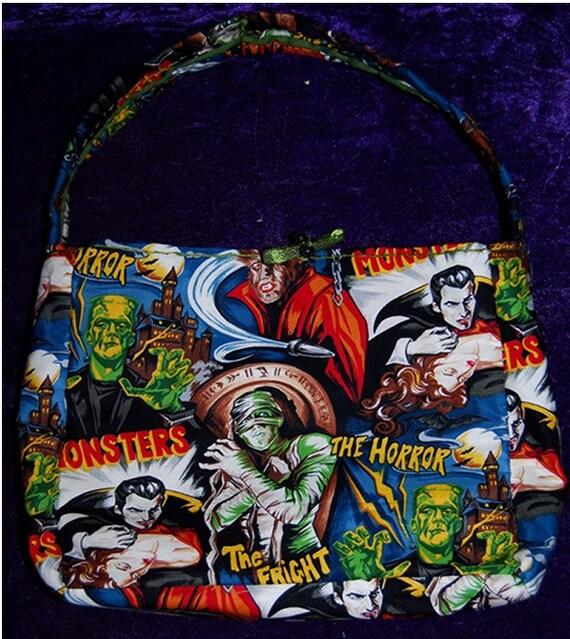 monster hobo style bag