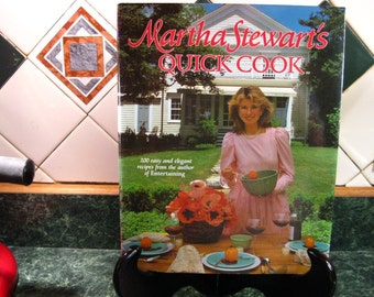 Martha Stewart's Quick Cook Cookbook - Vintage Cookbook - Martha Stewart - Martha Stewart's Cookbook - Quick Cook Cookbook - Vintage Recipes