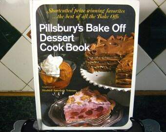 Vintage Pillsbury's Bake Off Dessert Cook Book - Pillsbury Dessert Cook Book - Pillsbury Cookbook - Pillsbury Dessert Recipes - Cookbook