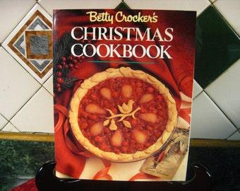 Vintage Betty Crocker's Christmas Cookbook - Betty Crocker's Christmas Cookbook - Betty Crocker's - Christmas Cookbook - Christmas Recipes